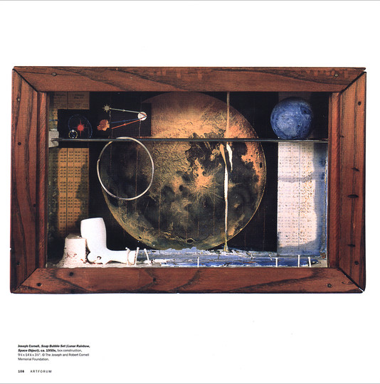 Joseph Cornell, Lunar Rainbow (Space Obj