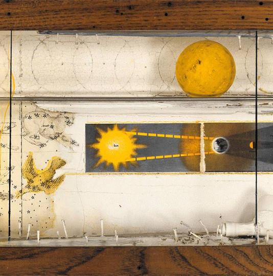Joseph Cornell, Untitled (Lunar Space Ob