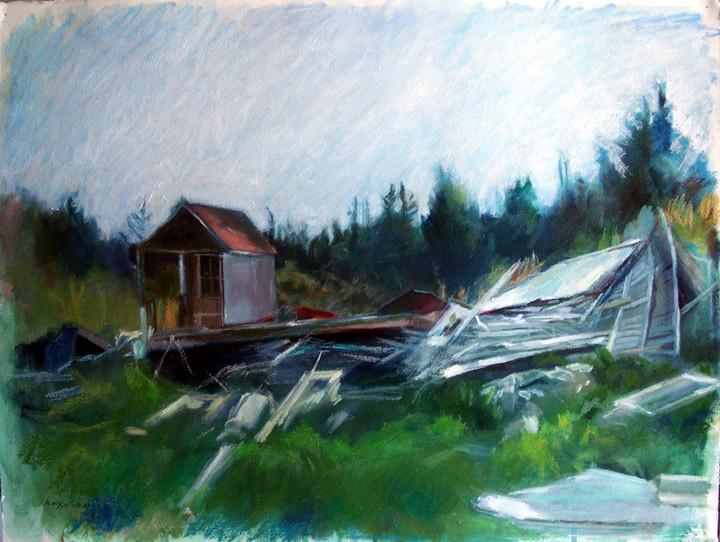 Fallen House