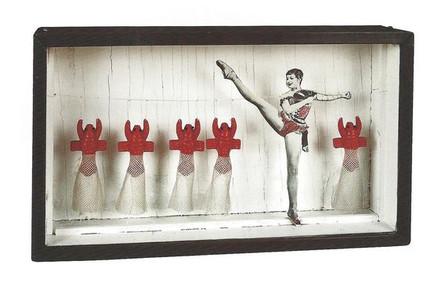 Joseph Cornell, Zizi Jeanmaire Lobster B