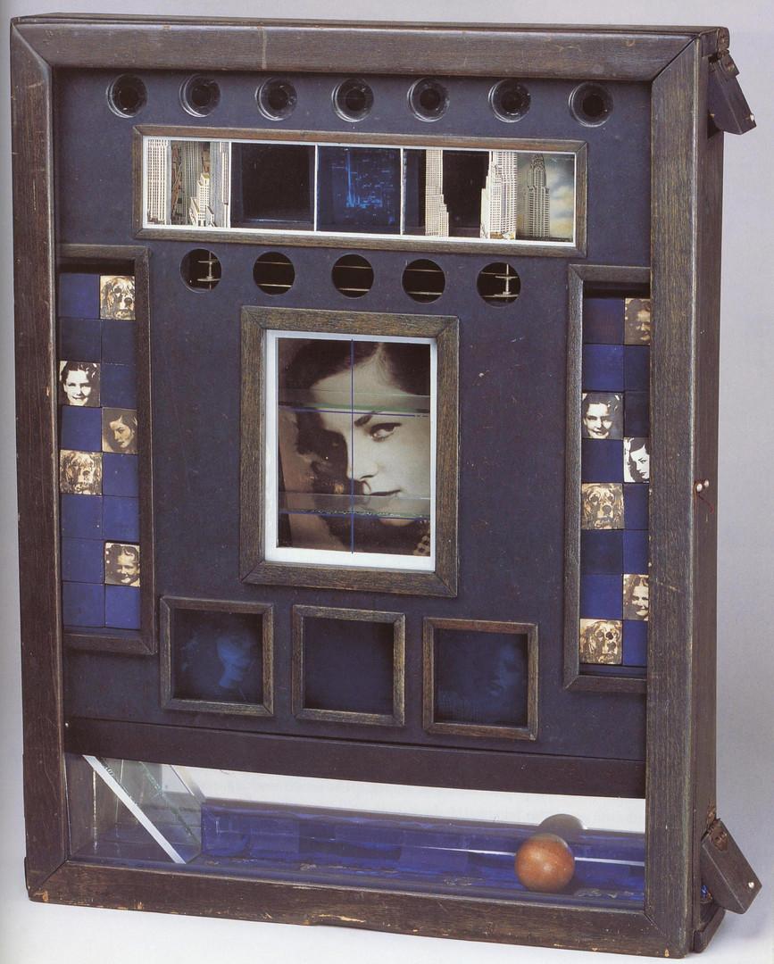 Joseph Cornell, Untitled (Penny Arcade P