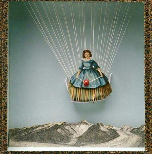 Joseph Cornell Untitled (Tilly-Losch) c.