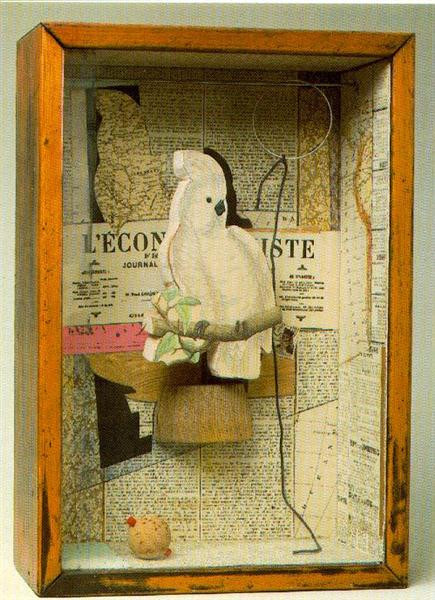 Joseph Cornell a-parrot-for-juan-gris-19