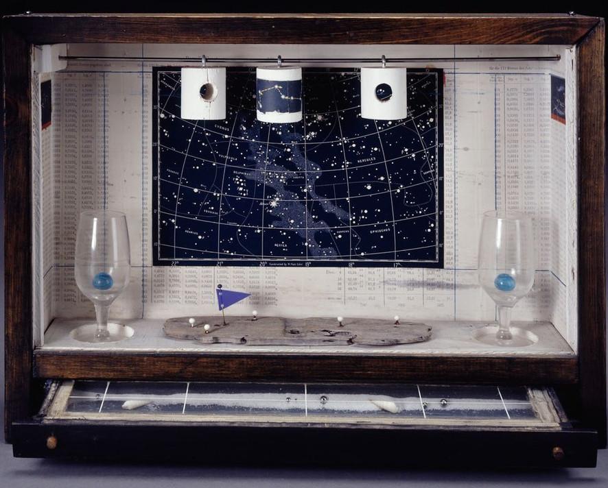 Joseph Cornell, Untitled (Celestial Navi