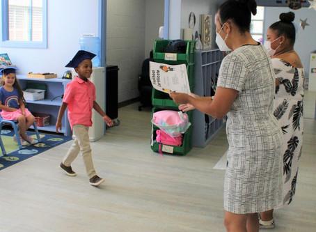 A DIFFERENT KIND OF GRADUATION - MLK preschool graduates move on to kindergarten ... via Zoom