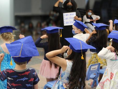 Heroes: the MLK's Preschool Graduating Class of '21, MLK Families, & MLK Staff ⭐️