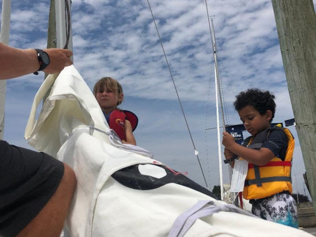 Zoologists Take Summer Adventure Camp By The Sails