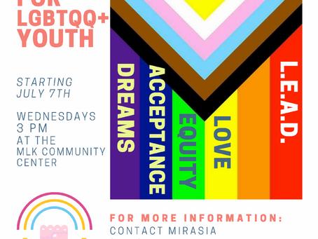 New LGBTQQ+ Programming ❤️🧡💛💚💙💜🖤🤍🤎