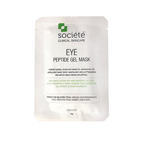 Societe Peptide Eye Gel Mask (single)