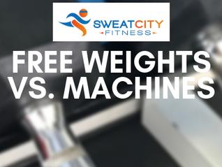 Free Weights Vs. Machines
