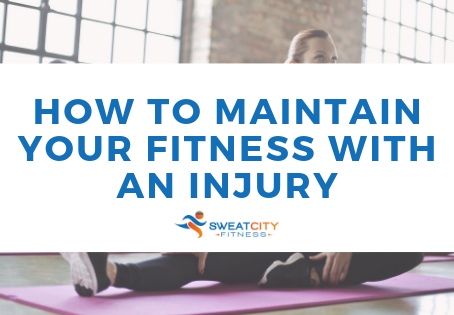 How To Maintain Your Fitness With An Injury