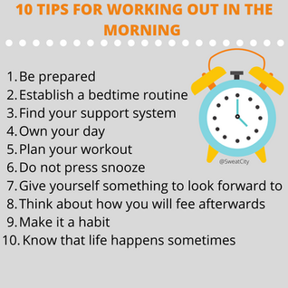 10 Tips for Working Out in the Morning