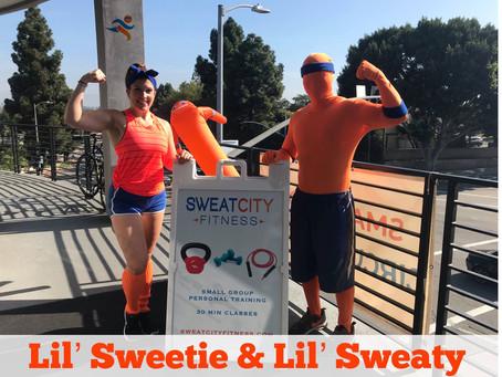 When Lil Sweetie Met Lil Sweaty