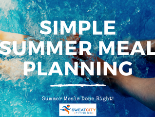 Simple Summer Meal Planning