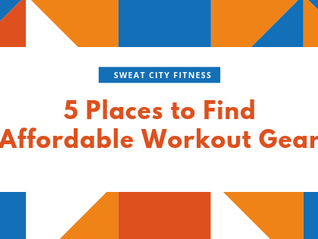 5 Places to Find Affordable Workout Gear