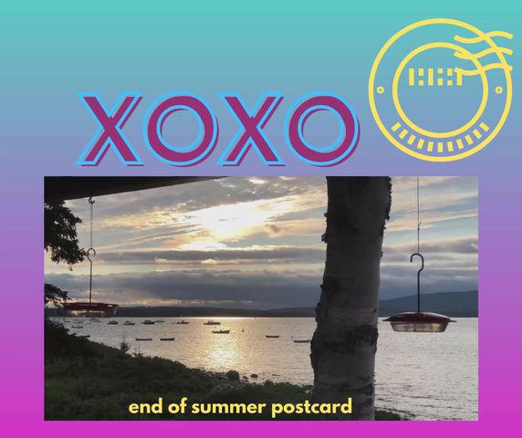 End of Summer Postcard
