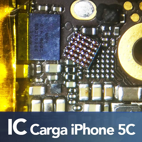 Cambio de IC Carga iPhone 5C