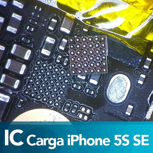 Cambio de IC Carga iPhone 5S SE