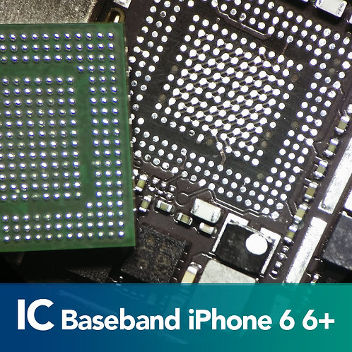 Cambio de IC Baseband iPhone 6 6 Plus 6S 6S Plus