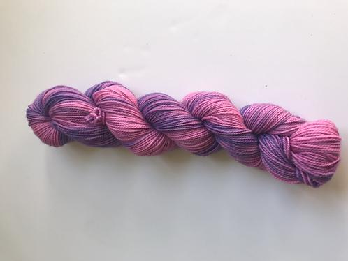 Wa Sock 50g - OOAK Lavender Roses