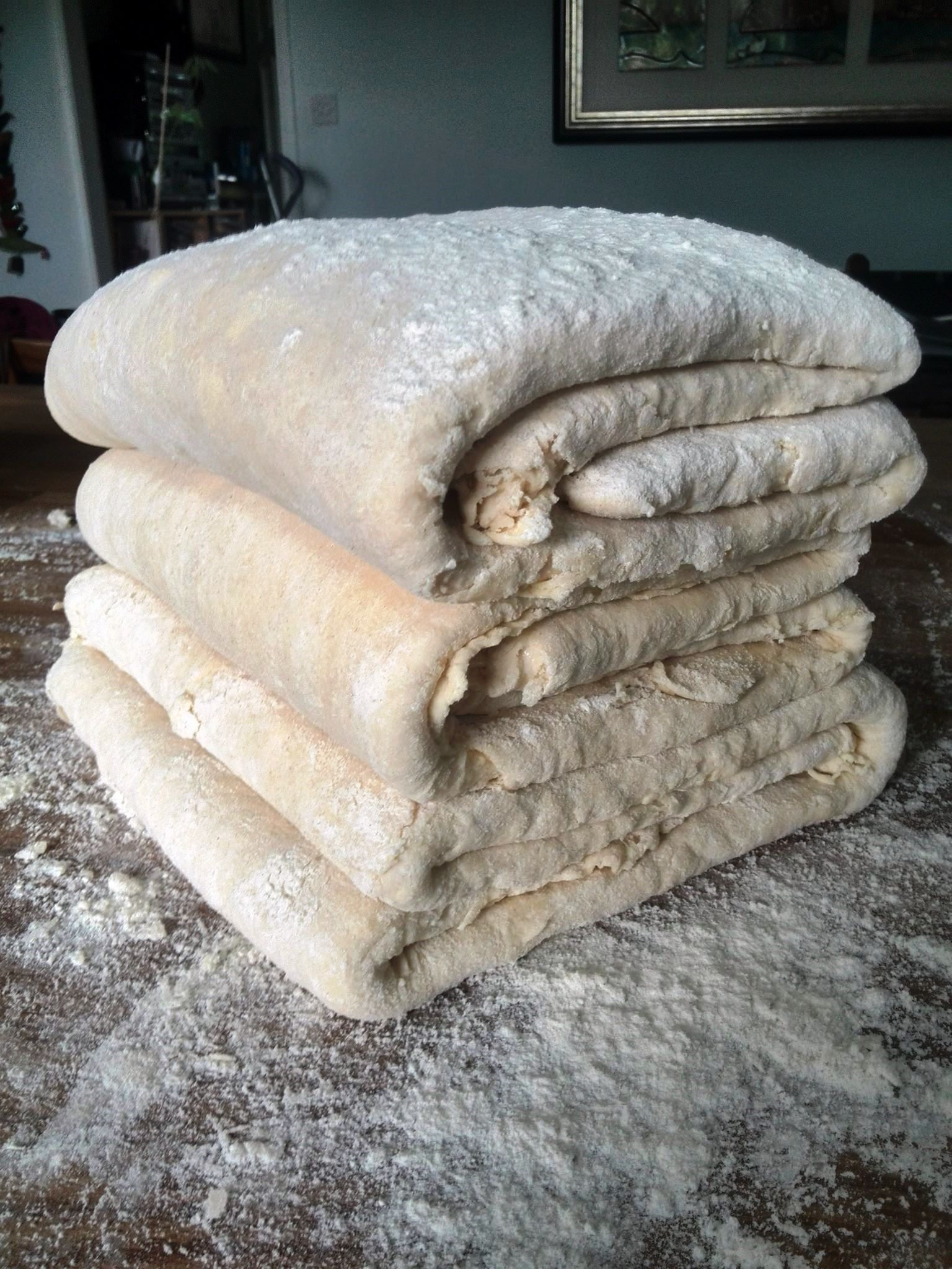 puff pastry stacks