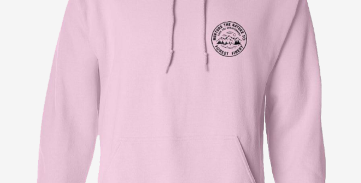 Nurture the Nature Pink Hoodie
