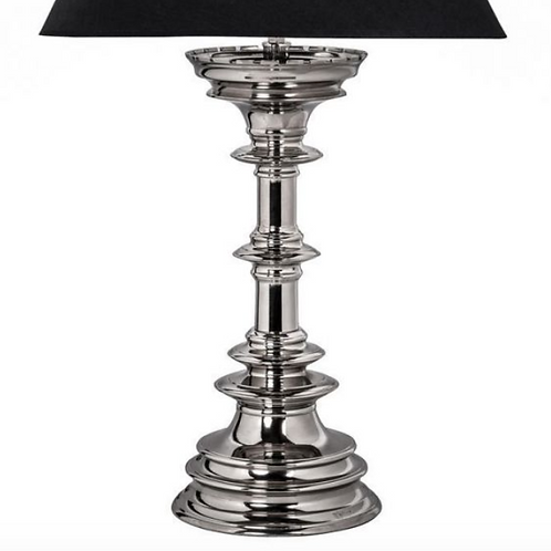 Capablanca Nickel Lamp Base