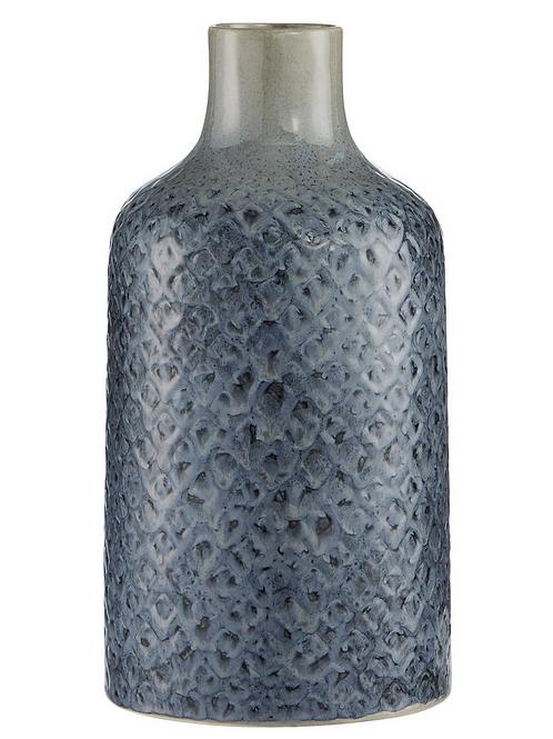 Selielle vase - Grisaille blue