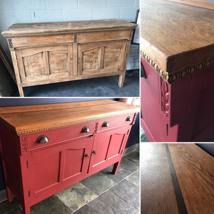 Vintage restored and upcycled sideboard