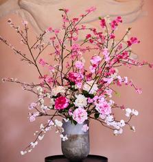 Pink Blossom by Silk-ka
