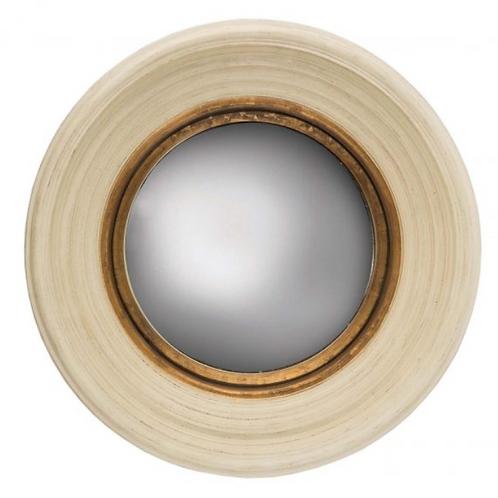 Fitzroy Convex Mirror - Cream