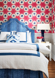Thibaut- Summerhouse  Collection - Sunburst wallpaper