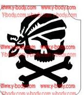 51102 Jolly Roger Skull