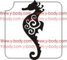 220A Seahorse Swirl