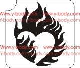 366H Heart Fire