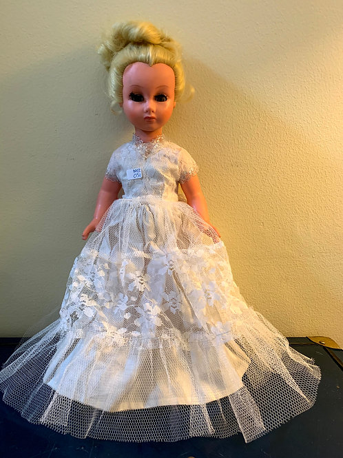 "MR - 051 - Doll W/Wedding Dress - 16""T"