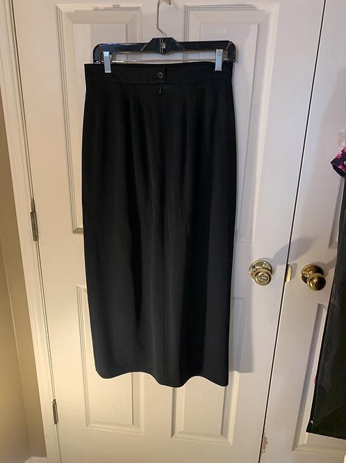 WB - 337 - Bogato - Lined Skirt W/Slit - Sz 14