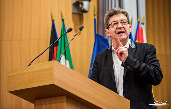 Jean-Luc Mélenchon à Tribunes ESCP