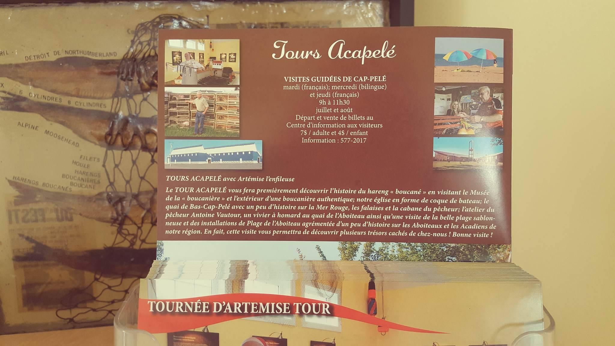 Tours Acapelé