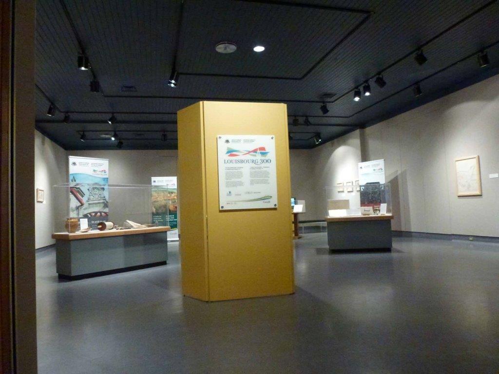 Salle d'exposition temporaire