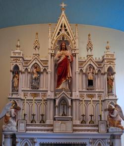 The church's original High Altar