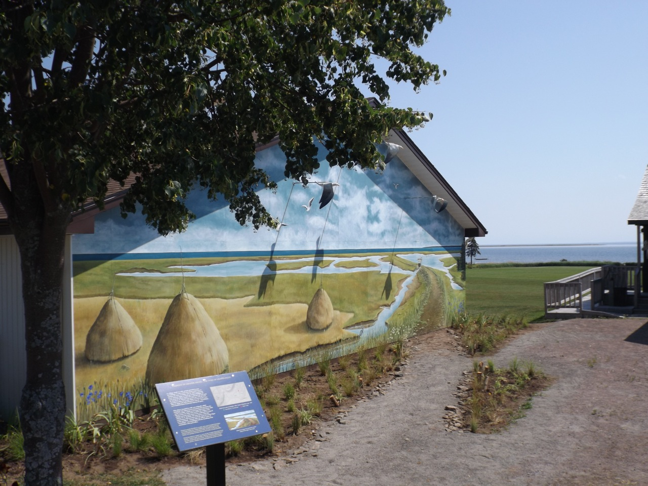 The Pionneer's Museum Painted mural