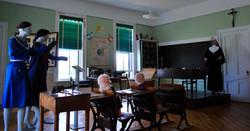 Exposition de l'école d'autrefois