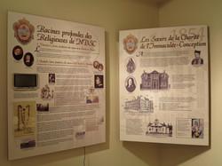 Panneaux de la Salle Héritage NDSC