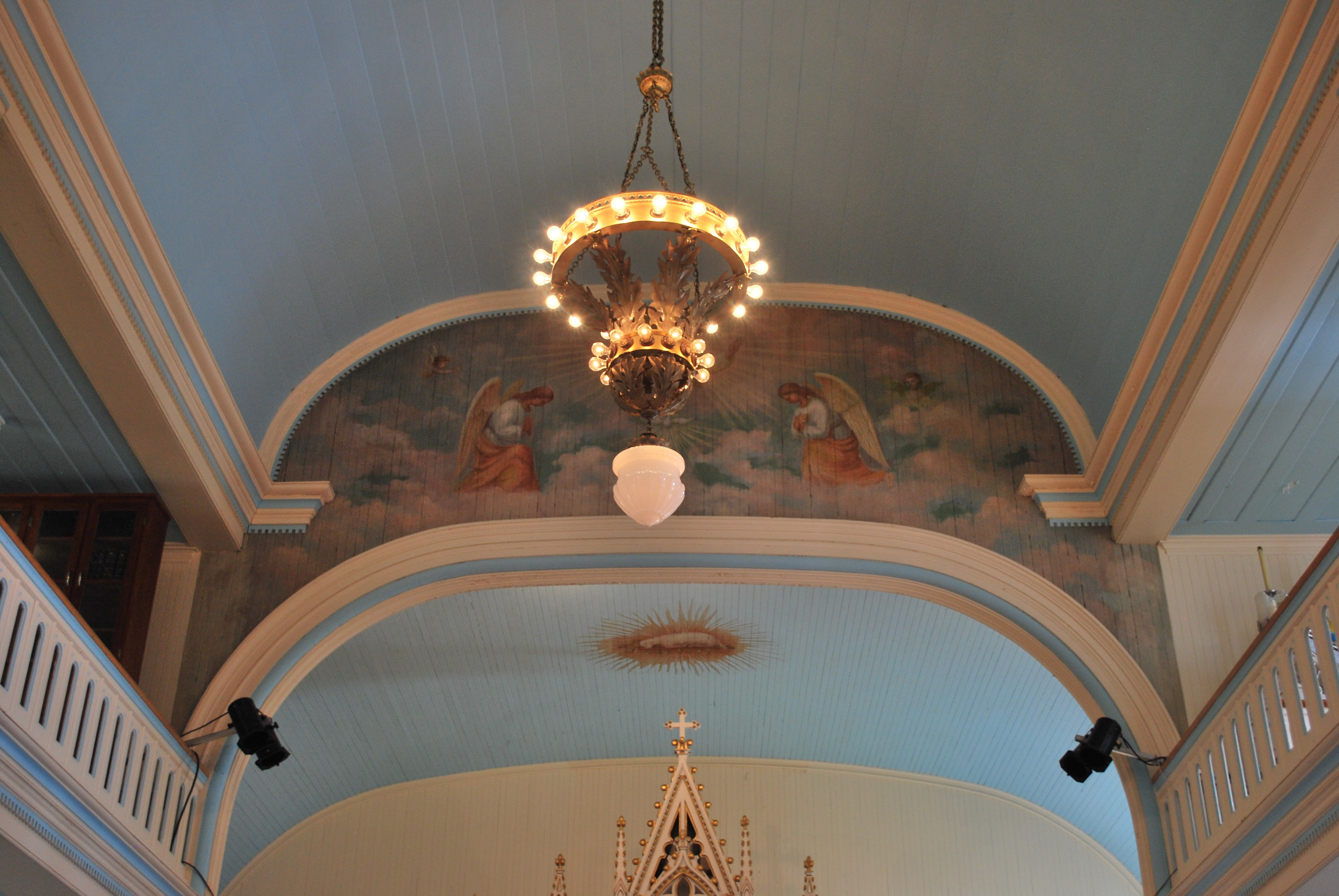 Church's chandeliers