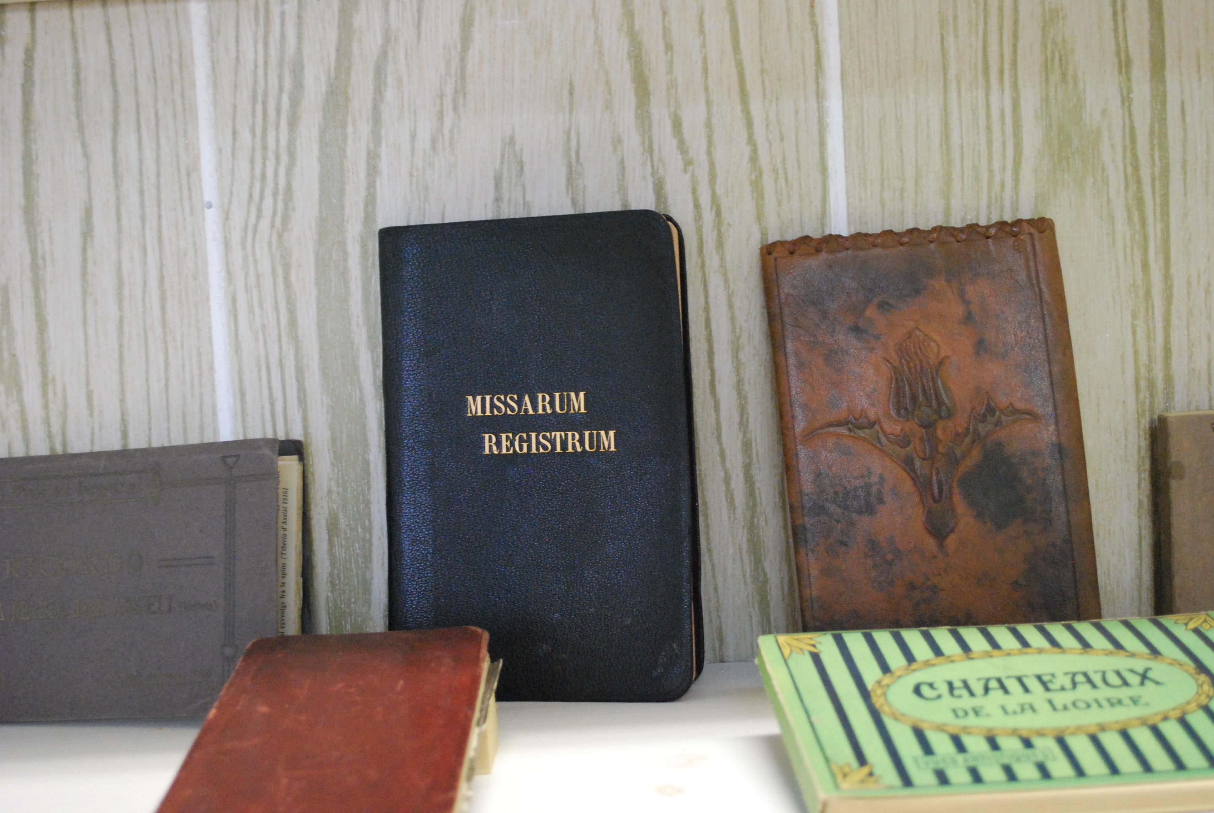 Collection de livres religieux