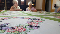 Traditional art of quilting