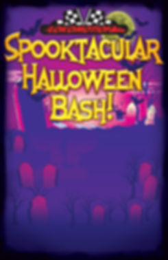 Spooktacular Halloween Bash at Lokmotion Family Fun Park. Costume contest, live music, amazing deal on 1 hour unlimited attractions,crafts, haunted house and more!