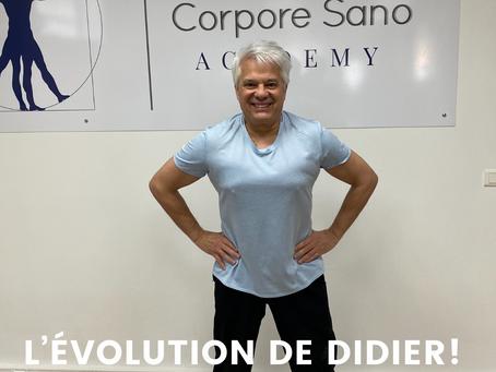 ↪️Évolution de Didier  Zoom aujourd'hui sur Didier, notre fidèle adhérent de la salle sport-santé