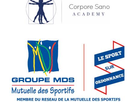 Partenaire de la Mutuelle des Sportifs